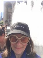 Susan at Lincoln Center NYC Ballet