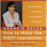 How To Make The Right Impression - Susan Roane