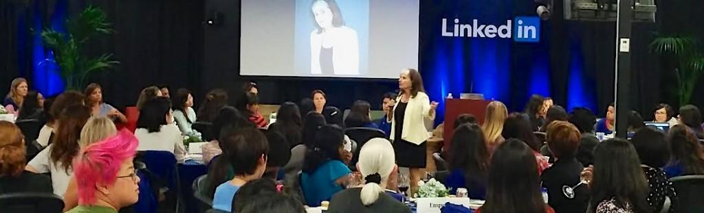 Susan RoAne Speaking at LinkedIn