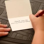 thank you notes meeting follow up networking business susan roane