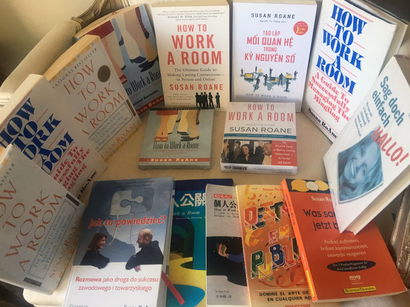 US and International Versions of How to Work a Room